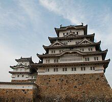 Himeji Castle, Japan  by jojobob
