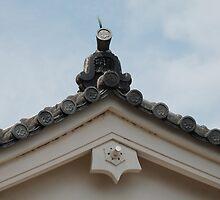 Roof Detail, Himeji Castle  by jojobob