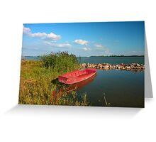 Csónak (a boat) Greeting Card
