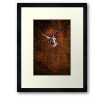 """Dove of Peace"" Framed Print"