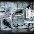 Mr & Mrs Raven Canvas by Rosie Rowe