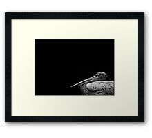 Captain Beaky Framed Print