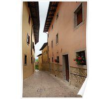 Street in Castel Monte Poster