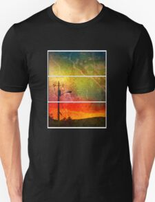 Funky Sunset  Unisex T-Shirt