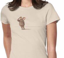 Cold Wind Light Shirt Womens Fitted T-Shirt