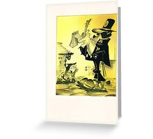 Despite being one of the hardest working bobbies on the beat sergeant Stoats inability to write made it very difficult for him to actually solve a crime. Greeting Card