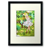 Rie Fumiko(anime girl) Framed Print