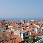 Piran Rooftops  by jojobob