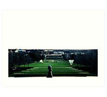 View from Nelson Art Gallery-Kansas City Art Print