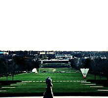 View from Nelson Art Gallery-Kansas City by khuntley