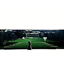 View from Nelson Art Gallery-Kansas City Photographic Print