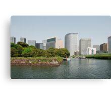 Tokyo Water Front, Japan  Canvas Print
