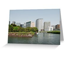 Tokyo Water Front, Japan  Greeting Card
