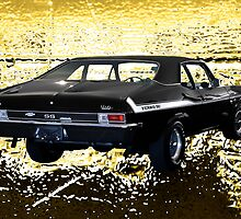 The Gold Standard -  Yenko 1969 Chevy Nova SS by TWindDancer