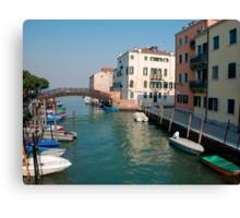 Backstreet, Venice, Italy  Canvas Print