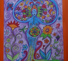 Flower of life by happyhArt