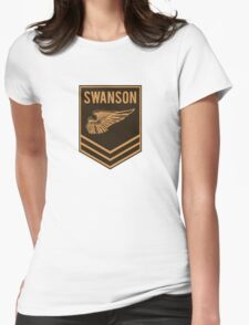 Parks and Recreation - Swanson Ranger Club Womens Fitted T-Shirt