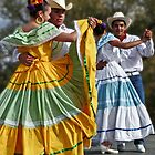 Folklorico Dancers by Linda Gregory