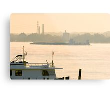 Ohio River Morning Metal Print