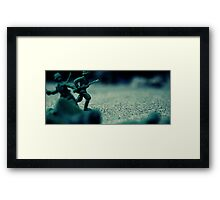 toy soldiers Framed Print