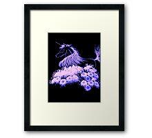 I Believe in Unicorns Framed Print