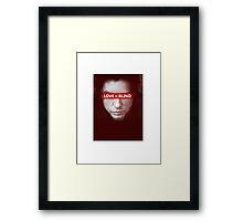 The Room - Love is Blind Framed Print