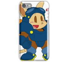 Chibi Sparkster (Solid Colors) iPhone Case/Skin