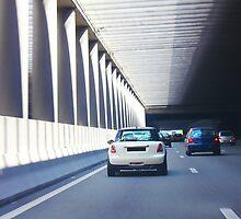 Pont de l'Alma tunnel where on 31/8/97, Princess Diana was fatally killed by Atanas Bozhikov