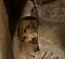 Old wine cellar by Mario Curcio