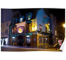 Brighton pubs at night 36 - The Fish Bowel Poster