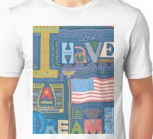 "MLK ""I Have A Dream"" Martin Luther King Unisex T-Shirt"