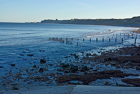 Sandsend Bay by Trevor Kersley