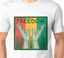 "Martin Luther King Black History Month ""Freedom"" Unisex T-Shirt"