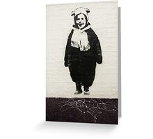 Stencil Art, Fitzroy Greeting Card