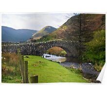 Stone Bridge, Cumbria Poster