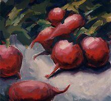 Radishes by Konnie Kim