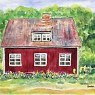 Swedish Cottage by Caroline  Lembke