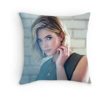 Ashley Benson Throw Pillow