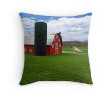 green acres Throw Pillow