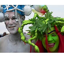 mermaids at Coney Island Photographic Print