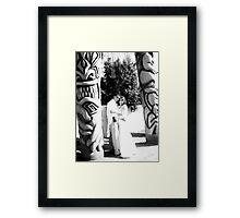 Tikki Wedding Framed Print