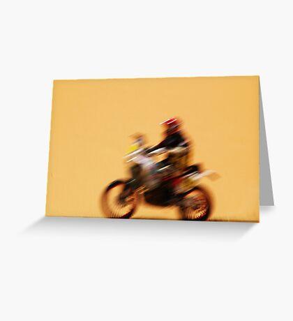 Desert Challenge Greeting Card