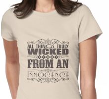 All Things Truly Wicked Womens Fitted T-Shirt