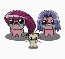 The Binding Of Isaac/Pokémon Crossover - Team Rocket T-Shirt