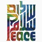 Language of Peace - Hebrew, Arabic, and English. by artgoddess