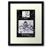 More Doodles from my Doodle Book Framed Print