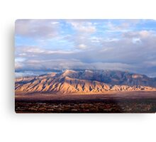The Sandia Mountains by Albuquerque, NM Metal Print