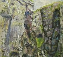 Gordale Scar 1 by Susan Duffey