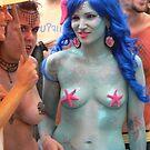 Purple  Mermaids by andytechie