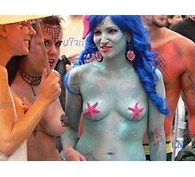 Purple  Mermaids Photographic Print